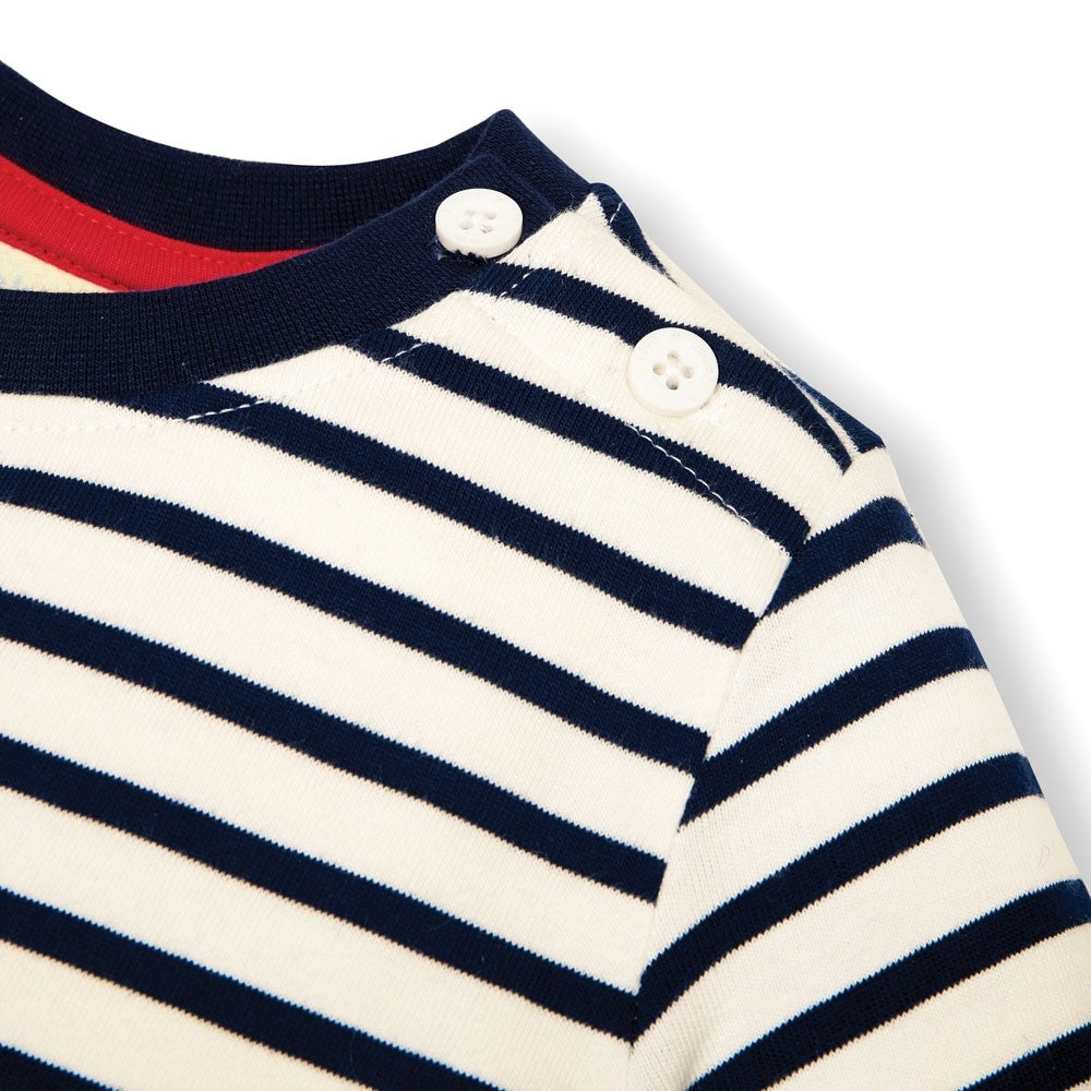 London Guards Stripe Top