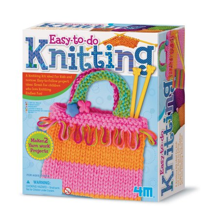 Knitting Art Activity Set