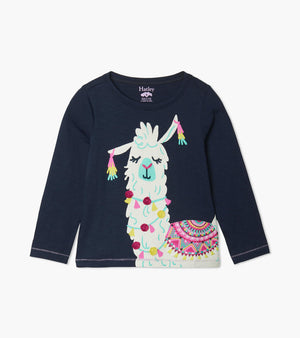 Pretty Alpaca Long Sleeve Tee