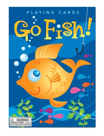 eeBoo Color Go Fish! Card Game
