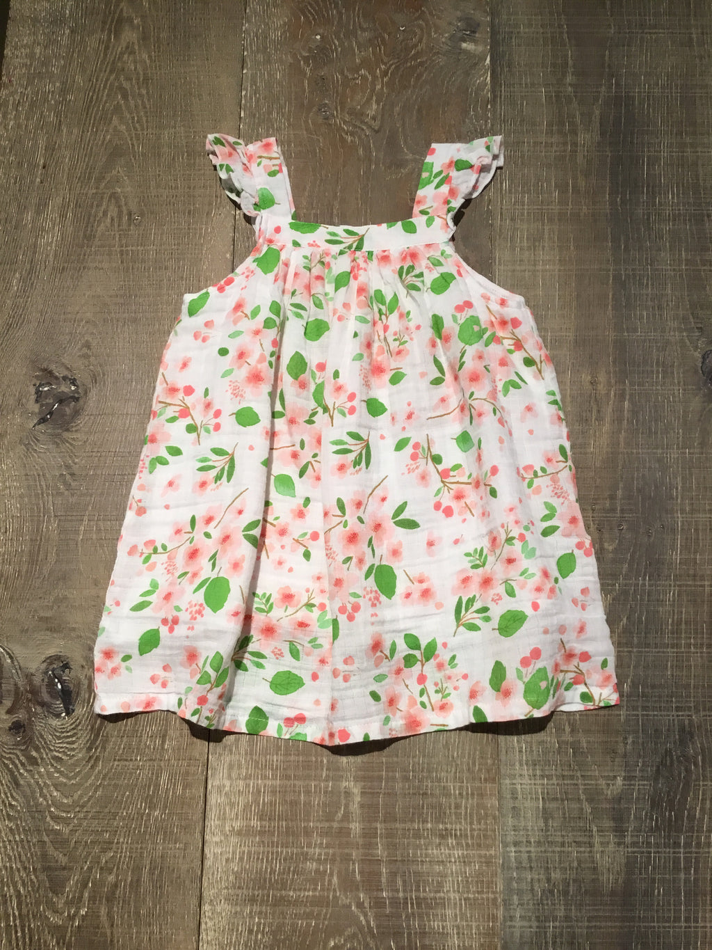 Cherry Blossom Muslin Sundress