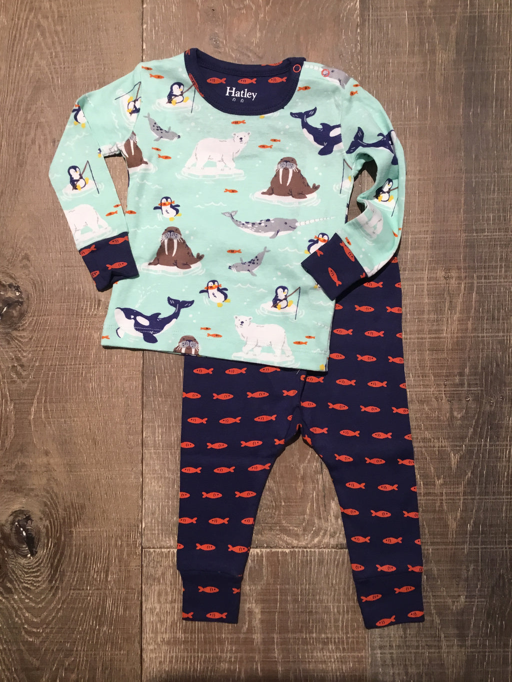 Arctic Friends Organic PJs