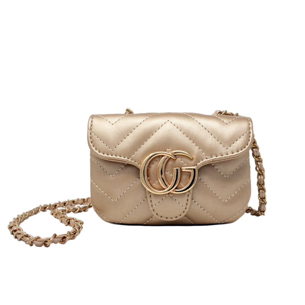 Gold G Mini Bag