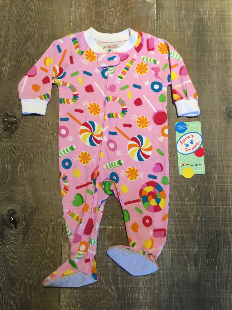 Candyland Footed Pajamas