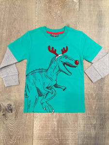 Dino Rudolph Long Double Sleeve Shirt