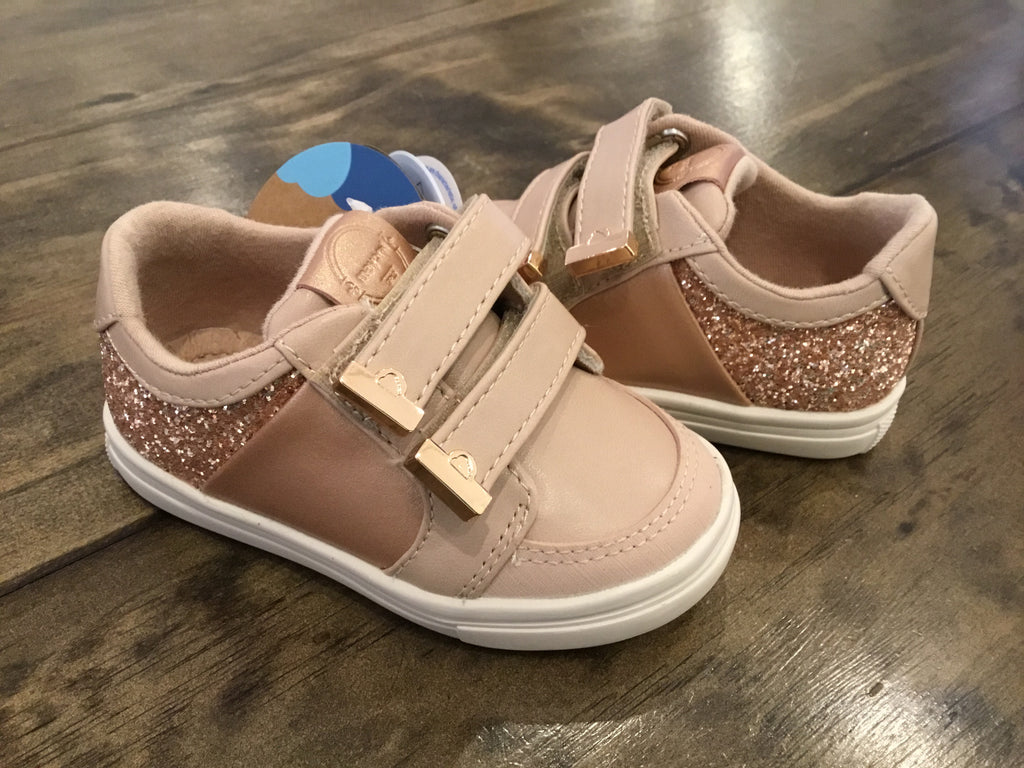 Glitter Sneakers in Natural