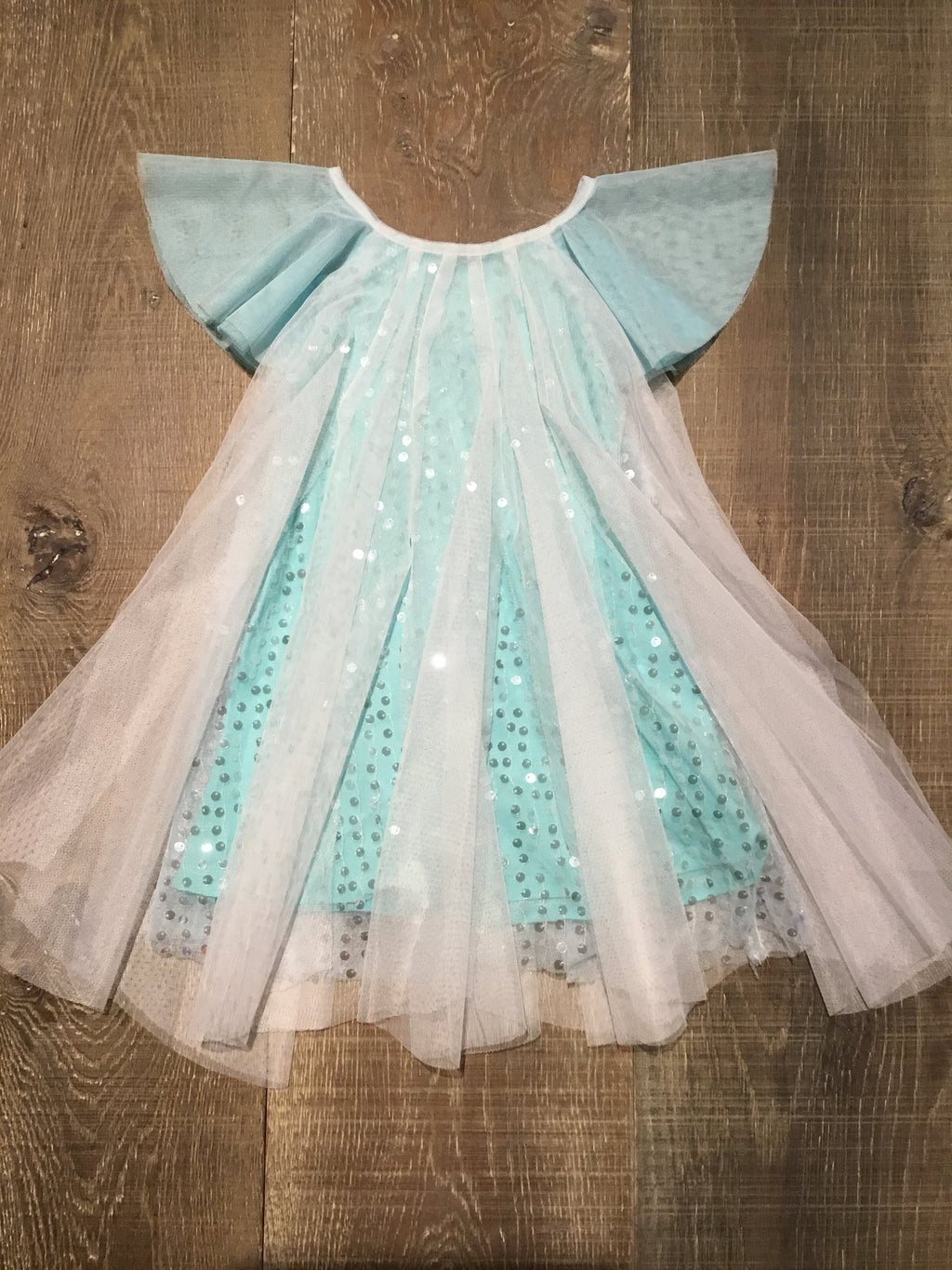 Aqua Sprinkling Magic Dress