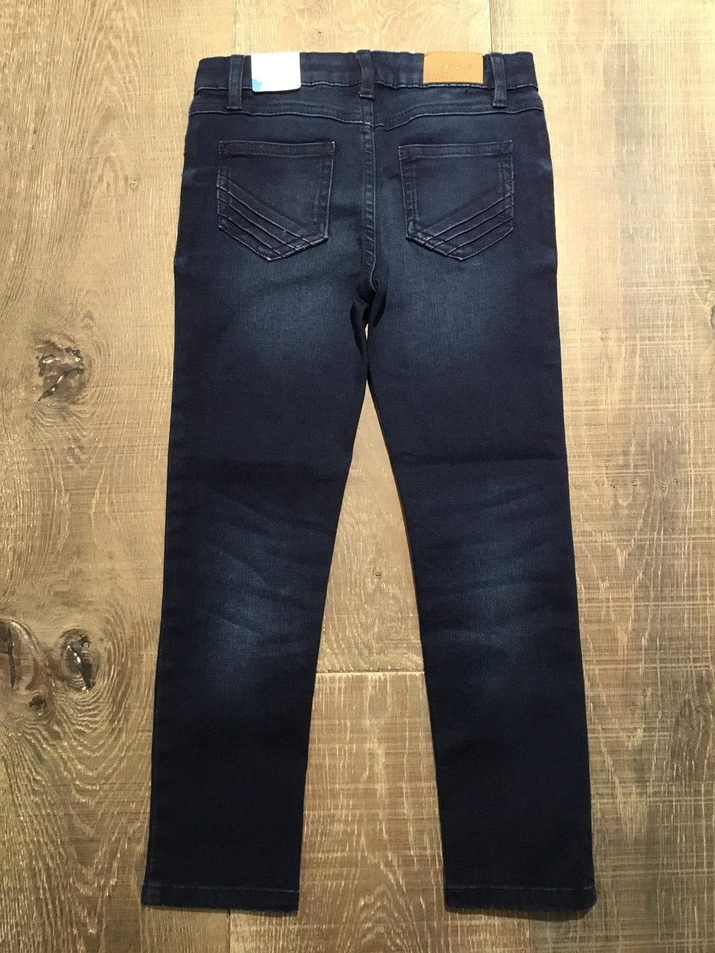 Skinny Basic Dark Denim Pants