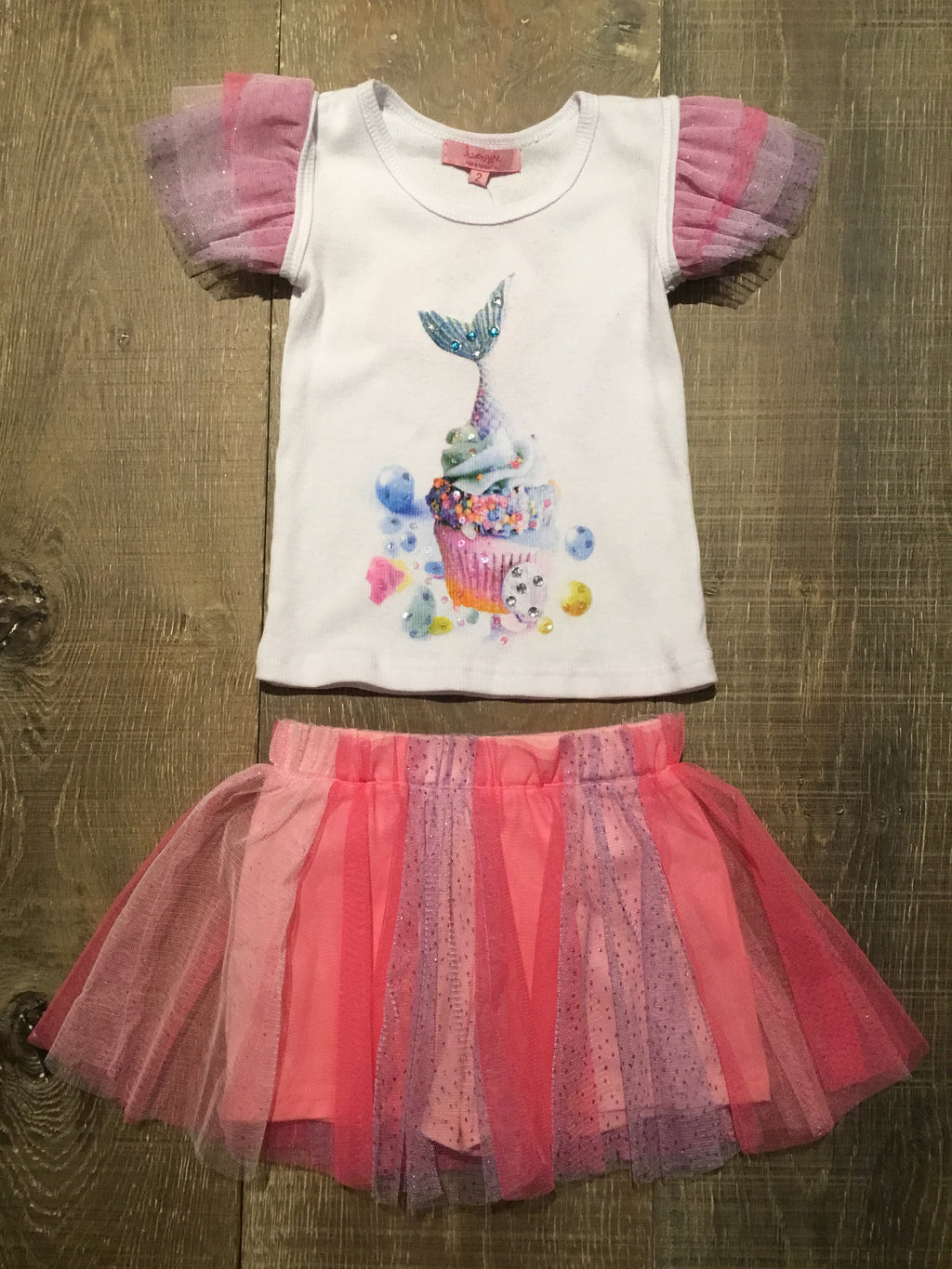 Mercake Birthday Tutu Outfit