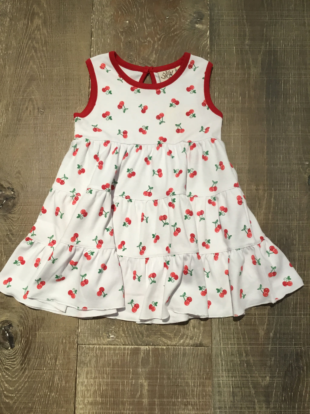 Cherry 3 Tier Dress