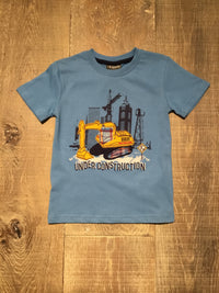 Under Construction Applique Tee