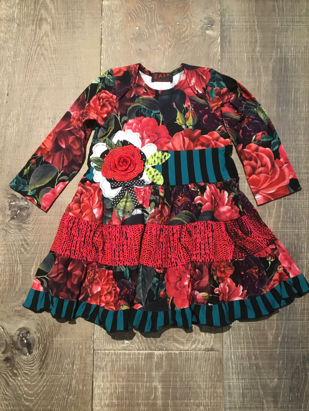 Red Rose Cinderella Dress