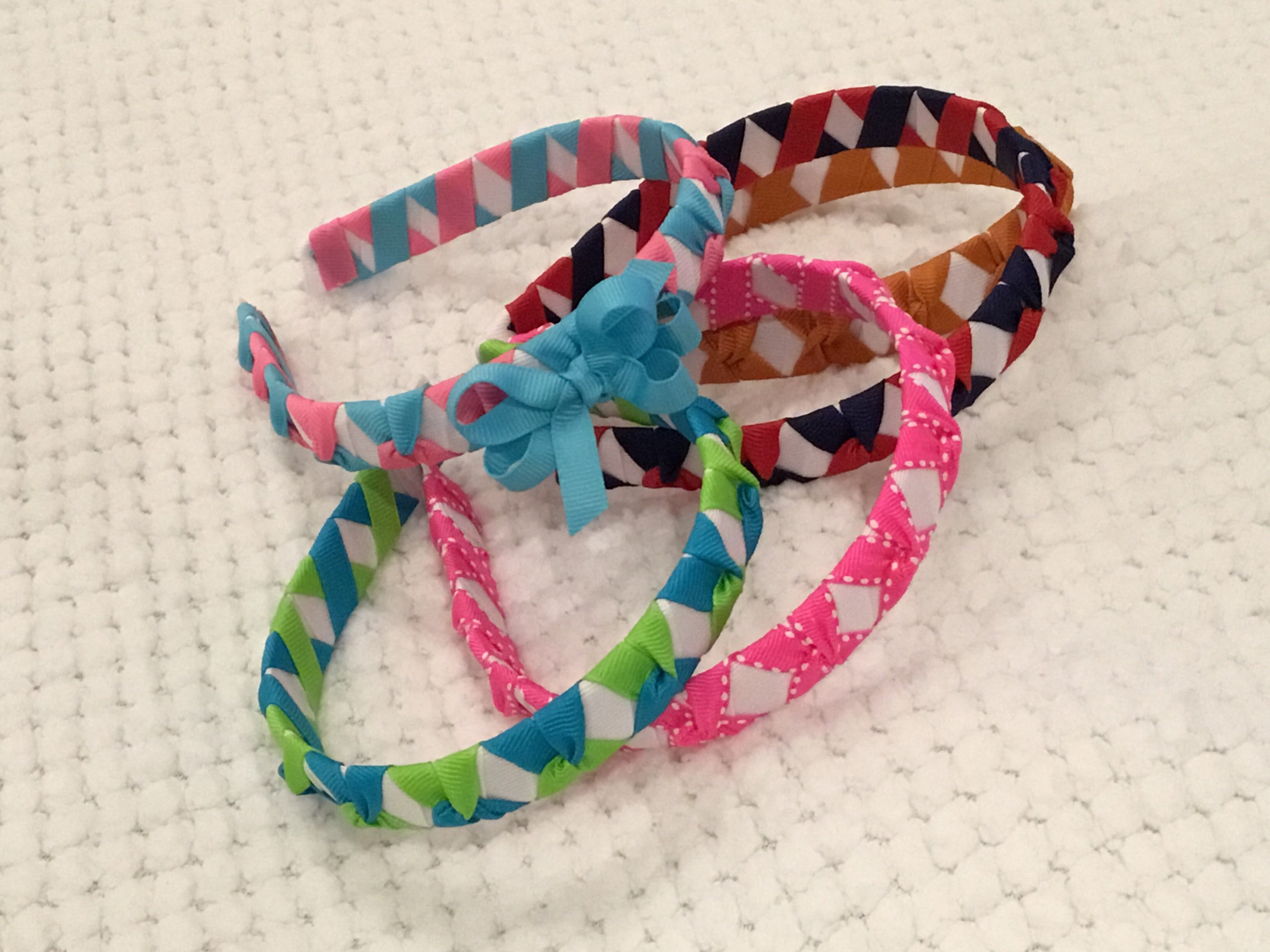 Braided Add-a-Bow Headbands