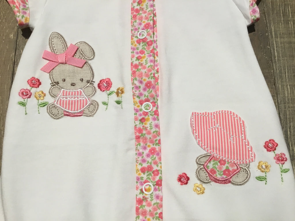 Bunnies & Floral Trim Bubble