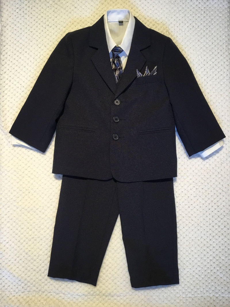 Navy 5 Piece Suit Set
