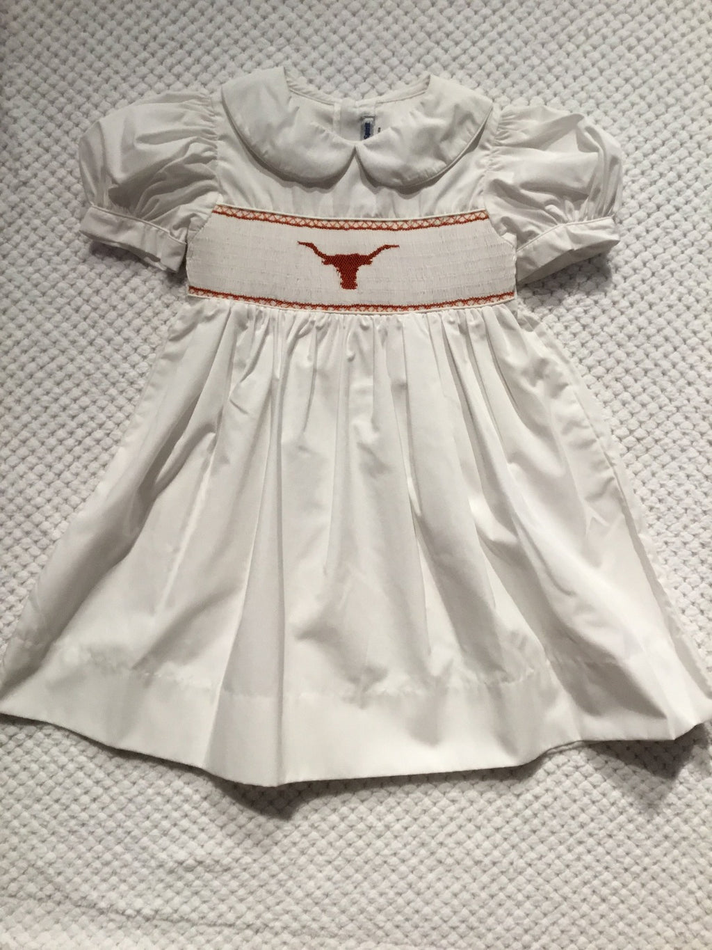 Smocked Longhorn Dress