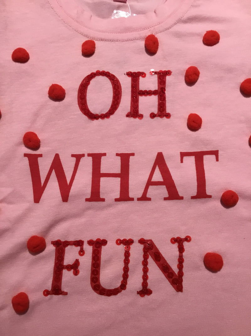 """Oh What Fun"" Long Sleeve Shirt"