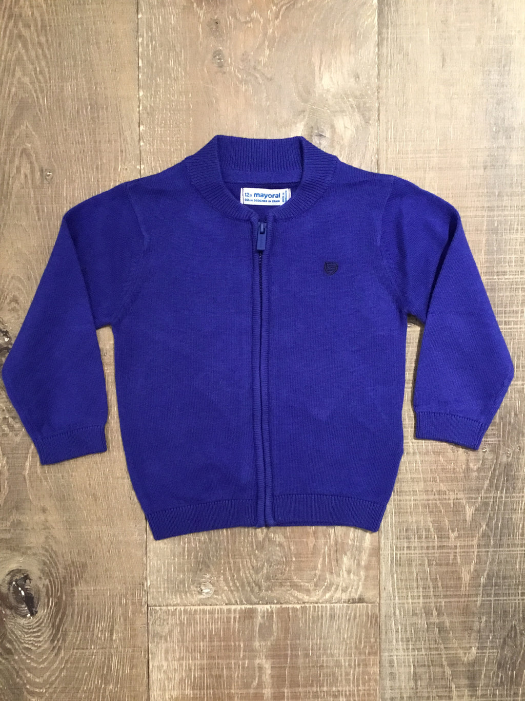 Meteor Blue Knit Pullover