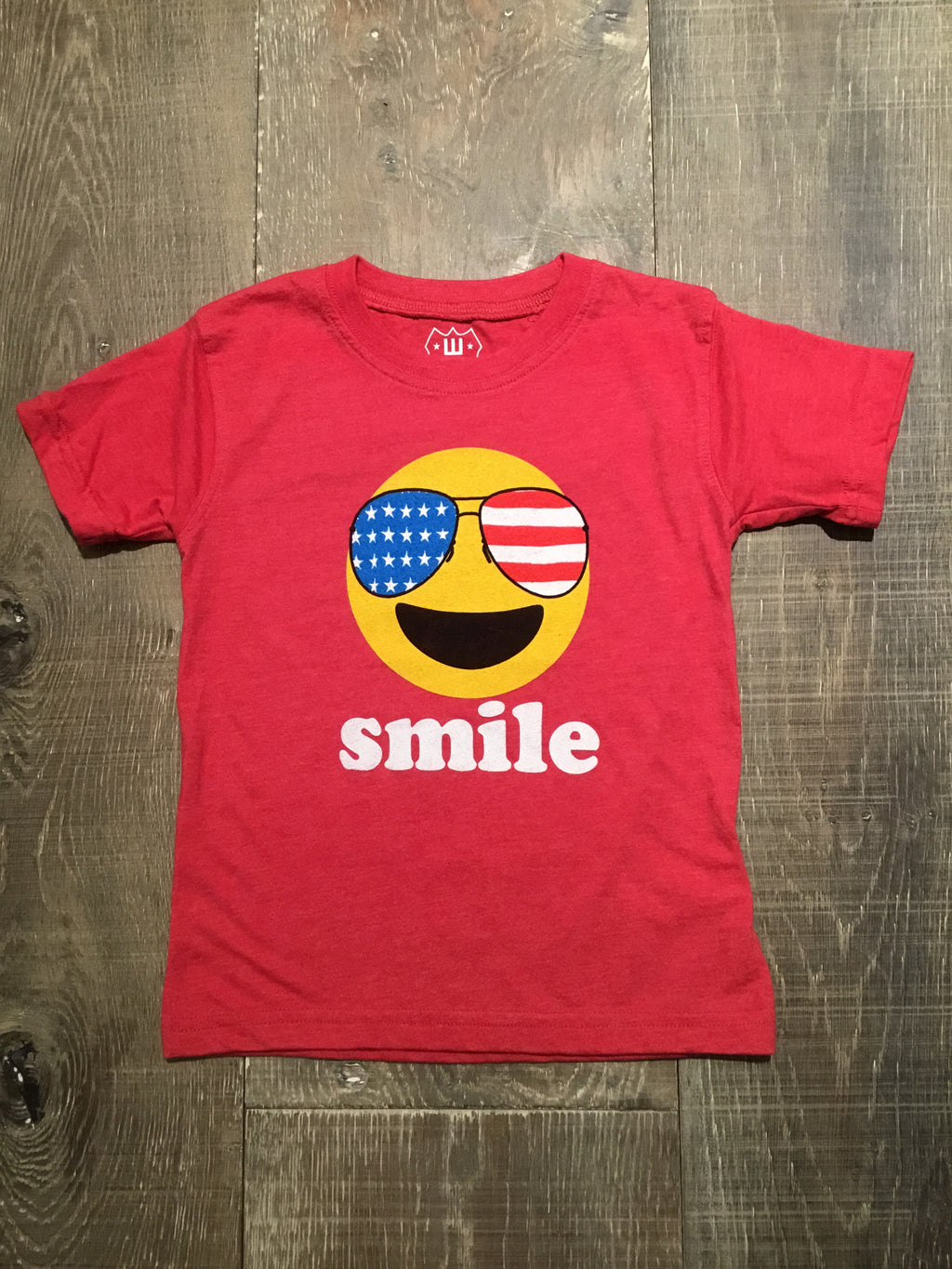 Patriotic Smile Graphic Tee