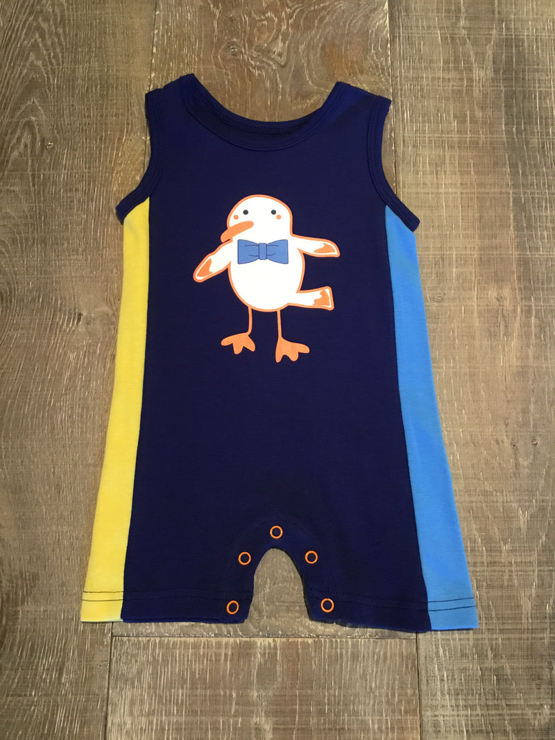 Seagull Sleeveless Romper