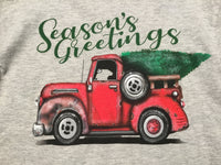 Season's Greetings Truck LS Tee