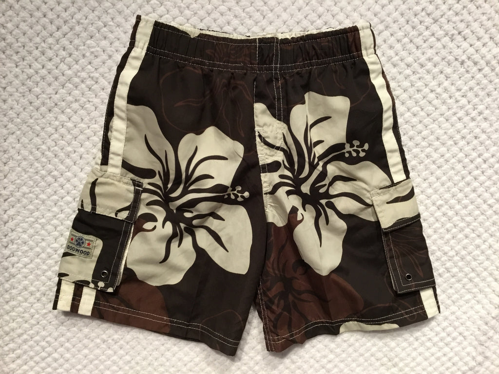 Sandy Beach Swim Trunks