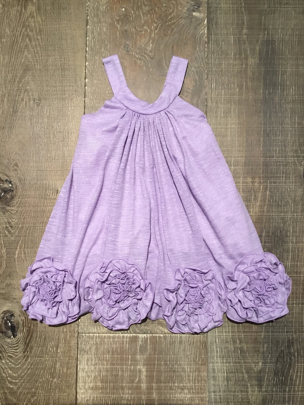 Lavender Shimmer Flora Dance Dress