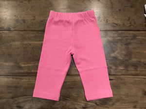 Bubblegum Solid Capris by Luigi Kids