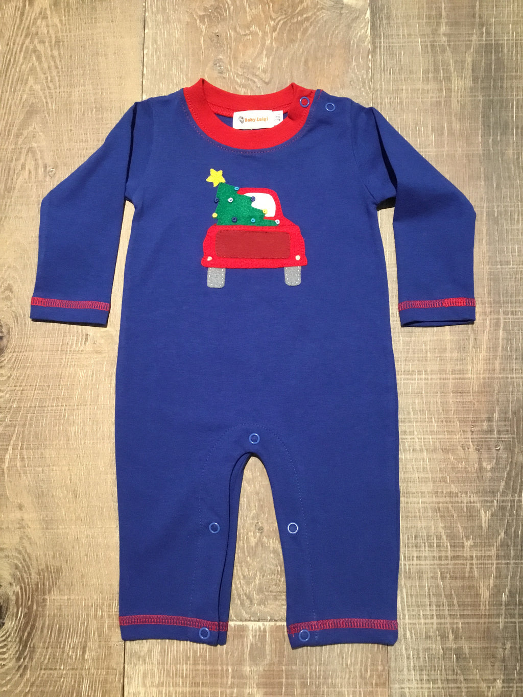 Truck & Christmas Tree Coverall