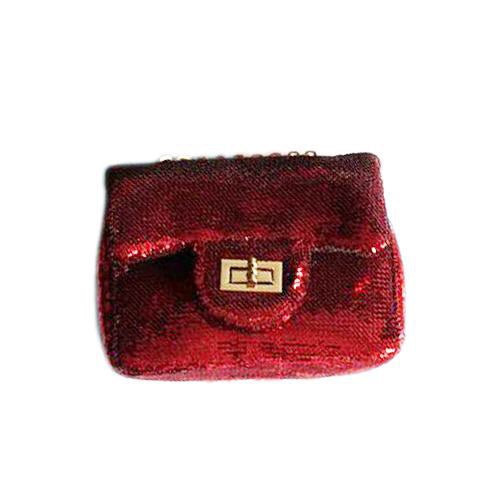 Red Sequin Mini-Bag