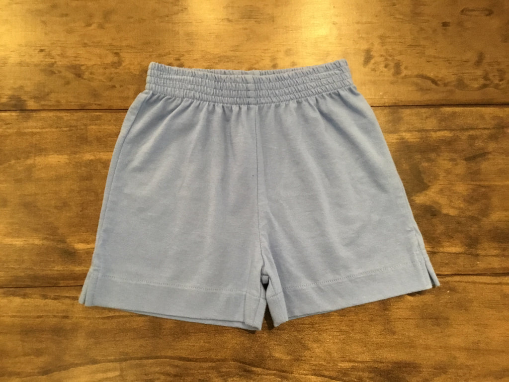 Chambray Jersey Knit Shorts by Luigi Kids