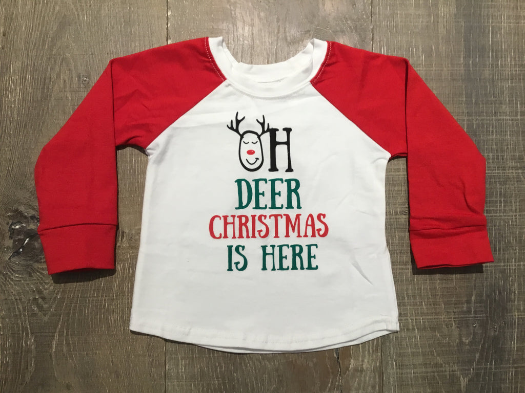 """Oh Deer"" Long Sleeve Shirt"