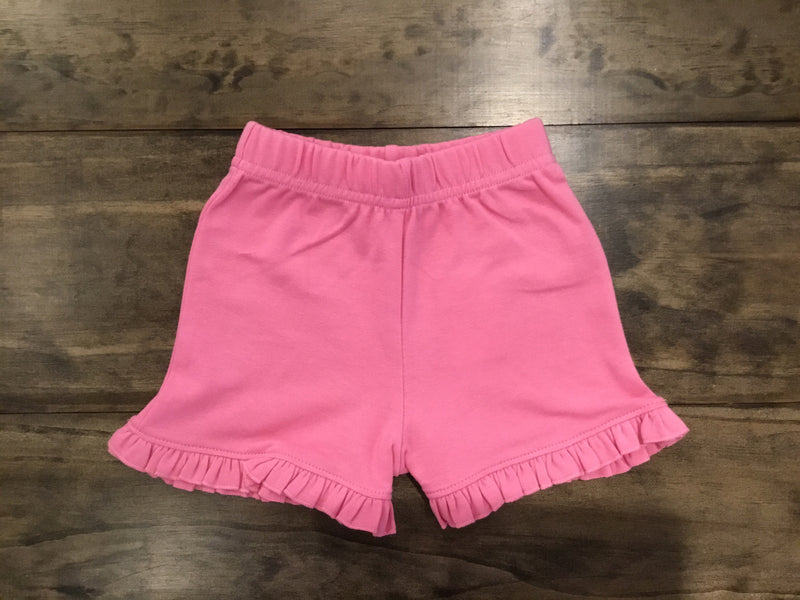Bubblegum Ruffle Edge Shorts by Luigi Kids