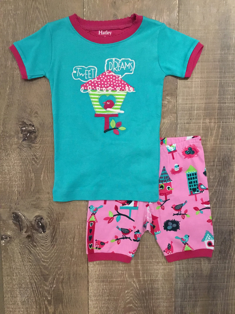 """Tweet Dreams"" Short PJs"