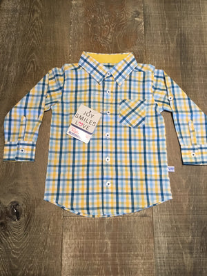Benjamin Plaid Button Down