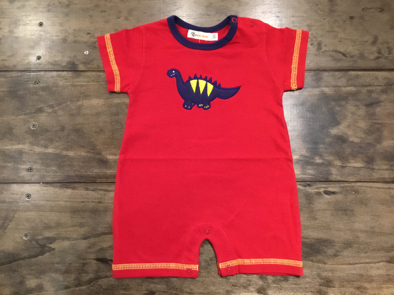 Dino Short Romper by Luigi Kids