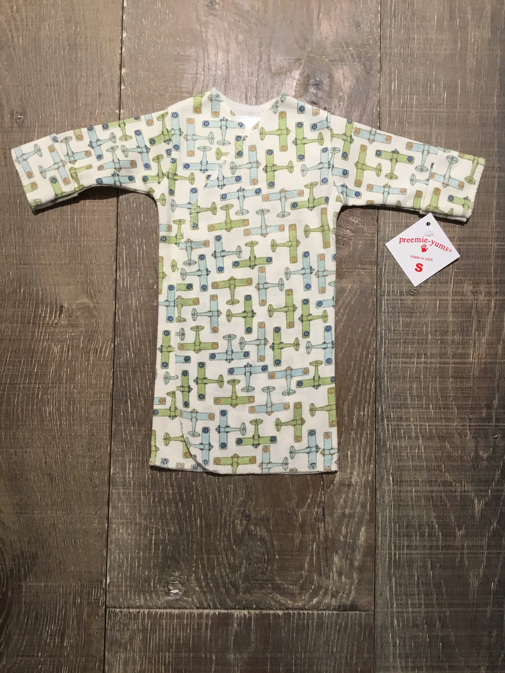 Airplane Preemie Long Shirt