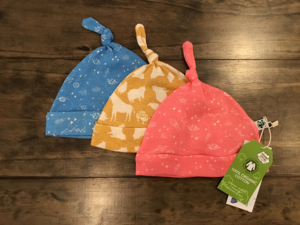 Knot Top Caps by Earth Baby Outfitters