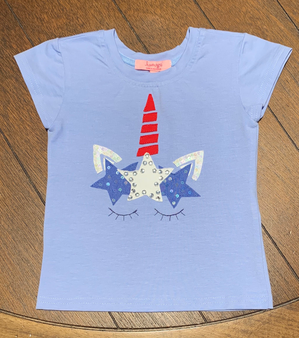 USA Unicorn Tee