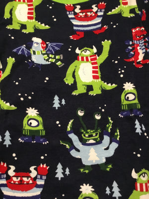 Cozy Monsters Organic PJs