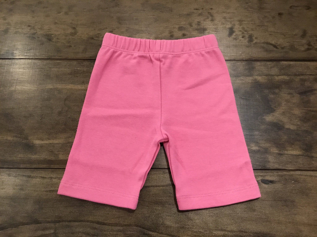 Bubblegum Solid Bicycle Shorts by Luigi Kids