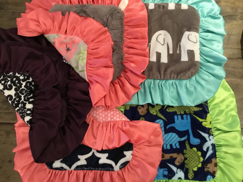 Teething Cuddle Blankets by Cuddle Couture