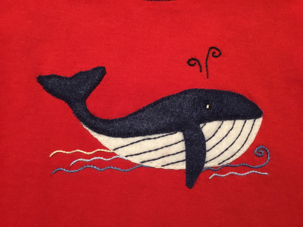 Whale Sleeveless Shirt