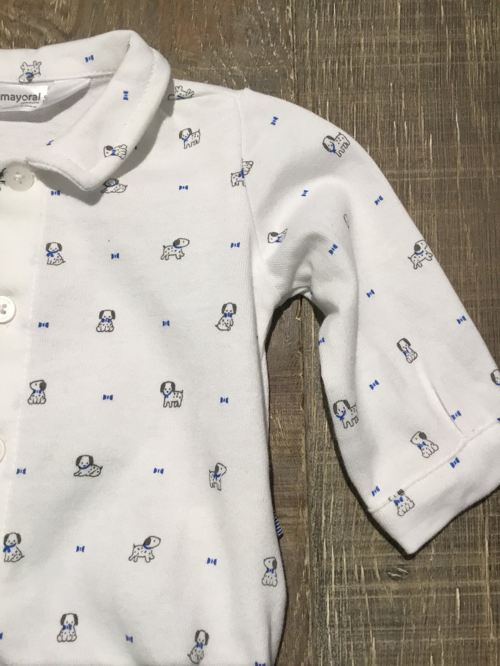Doggy Bowtie Polo Onesie