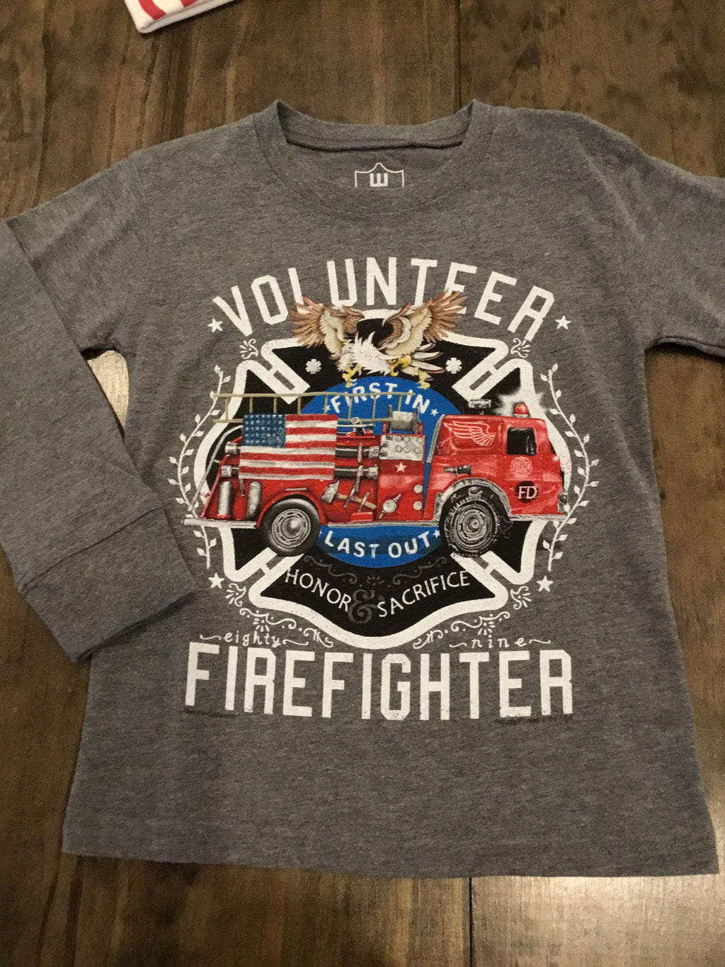 Volunteer Firefighter Long Tee