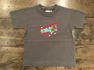 Airplane Short Sleeve Shirt by Luigi Kids