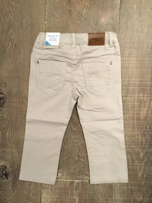 Regular Fit Khaki 5 Pocket Twill Trousers