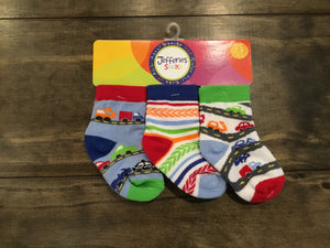 Speedy Multi 3-Pack Socks by Jefferies Socks