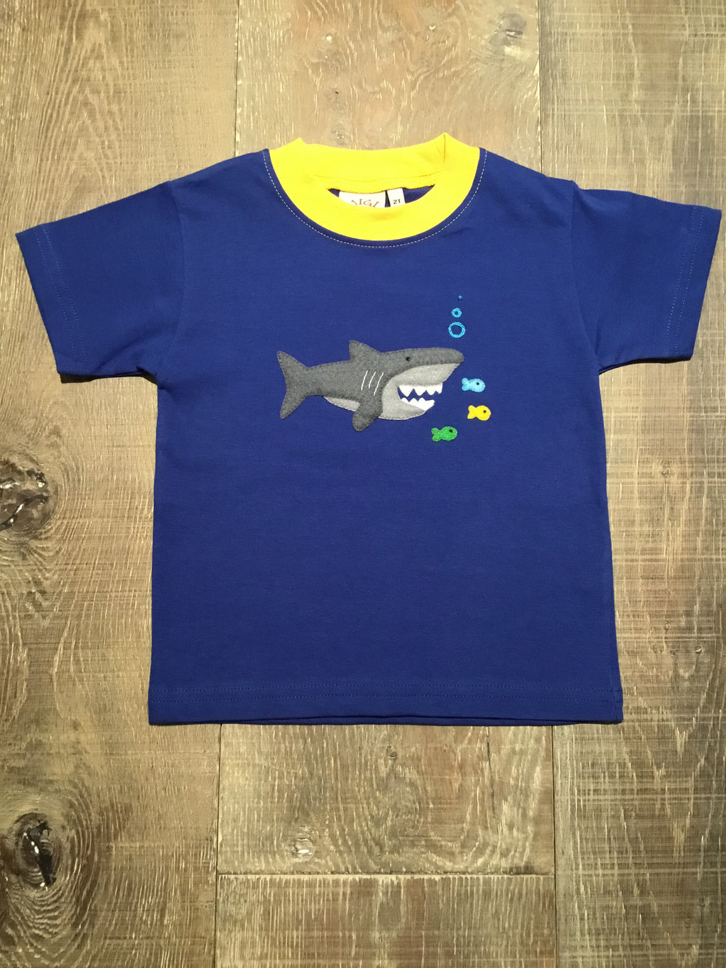 Shark Eating Fish Short Sleeve Shirt