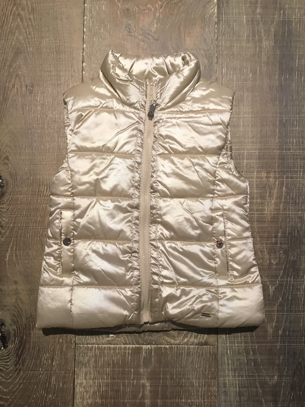 Reversible Champagne/Fleece Vest